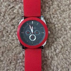 Men's Red Express Watch